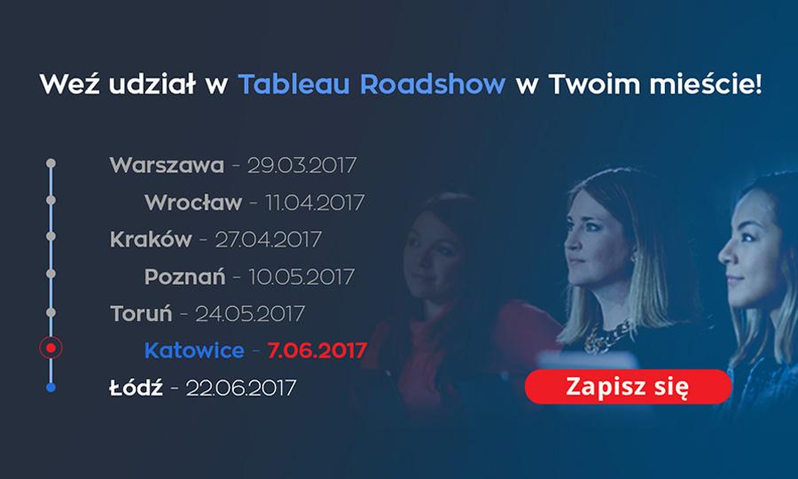 Przed nami ostatnie 2 Konferencje z cyklu Tableau Roadshow! Zapraszamy!