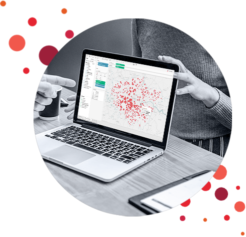 Mapy w analizach danych Tableau